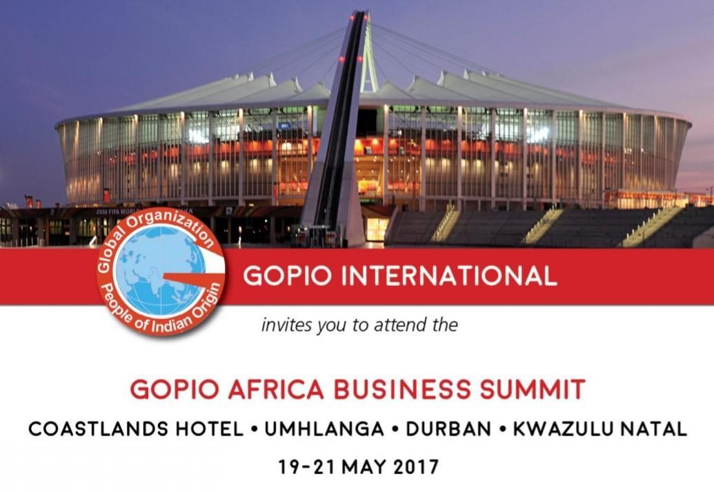 GOPIO Bus conf south africa